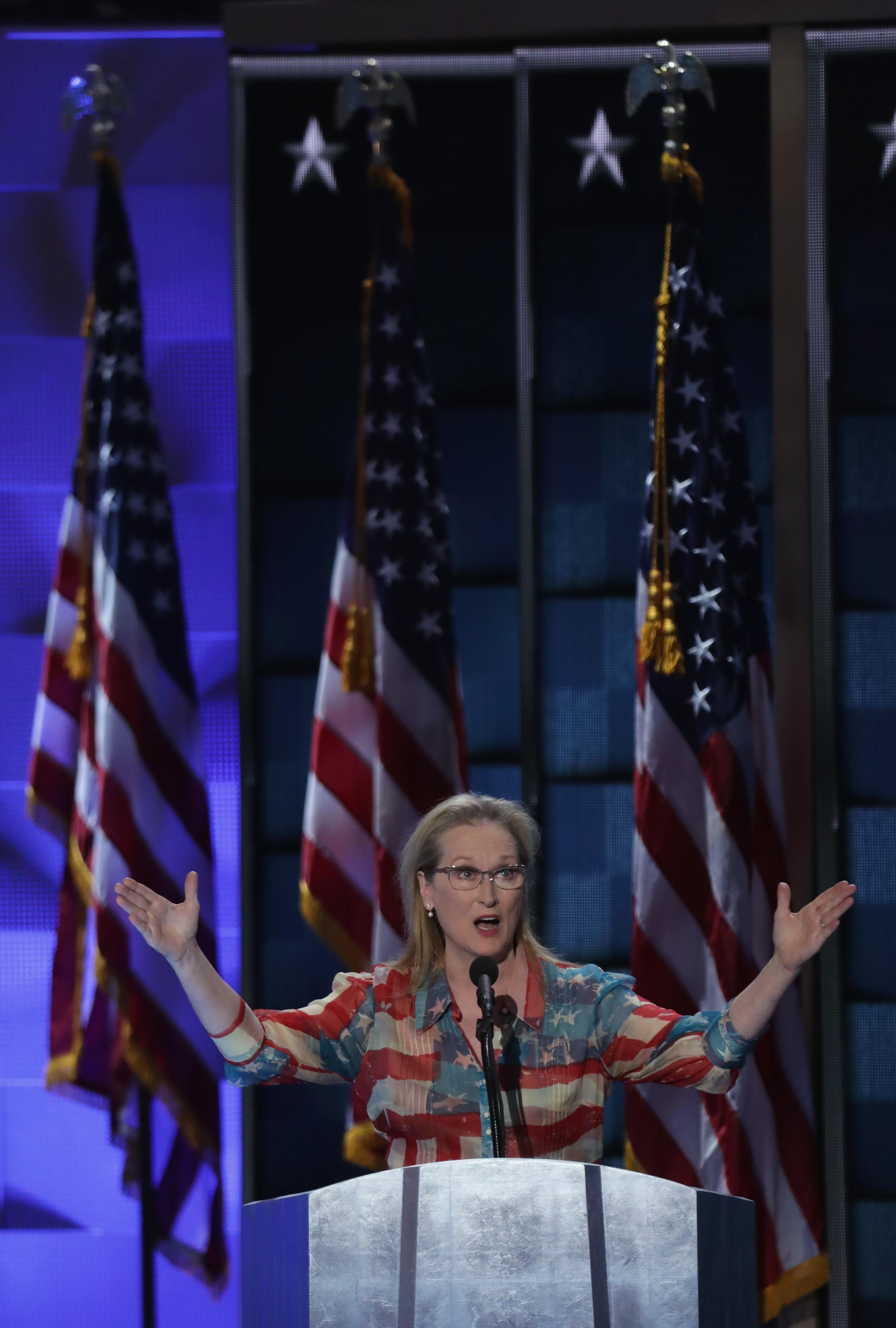 Meryl Streep, a atriz mais patriota dos EUA (Foto: Getty Images)