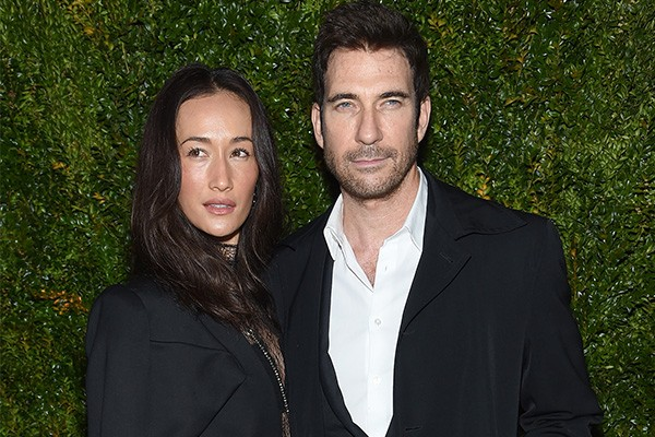 Maggie Q e Dylan McDermott (Foto: Getty Images)
