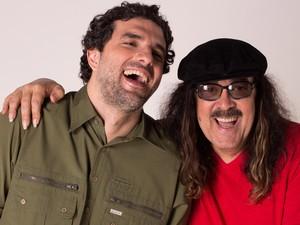 Moraes Moreira e Davi Moraes fazem show juntos em Salvador (Foto: Marcos Hermes/Divulgação)