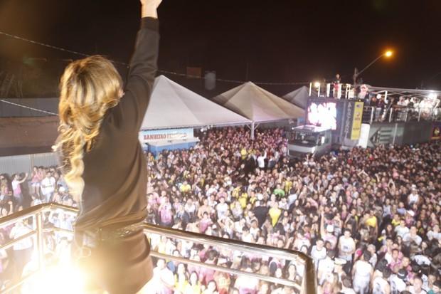 Claudia Leitte em Alfenas, MG (Foto: Fred Pontes/Divulgação)