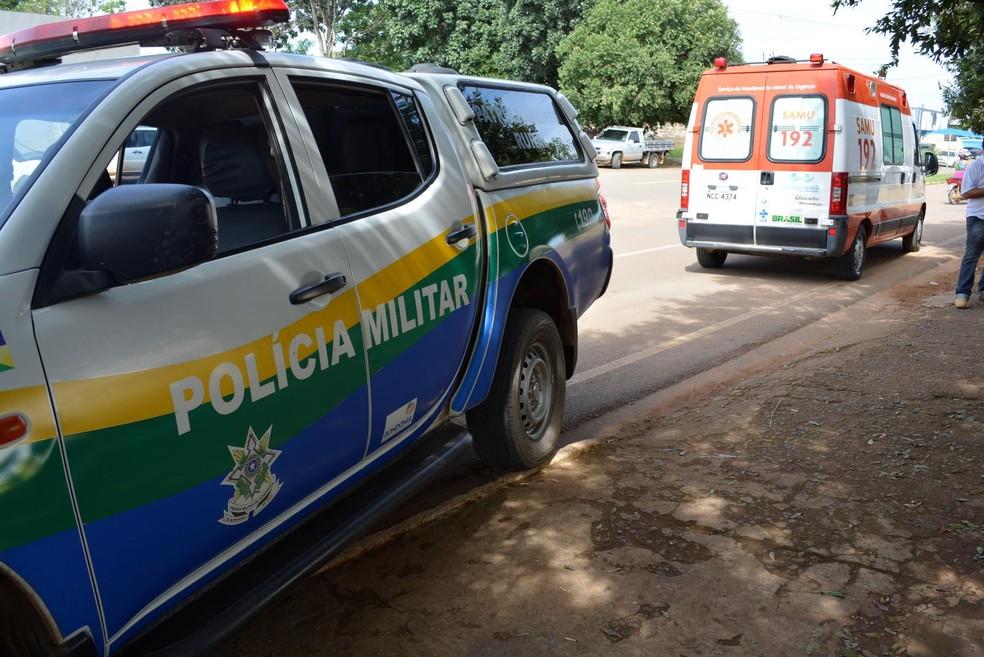 Polícia Militar investiga o caso (Foto: Jeferson Carlos/G1)