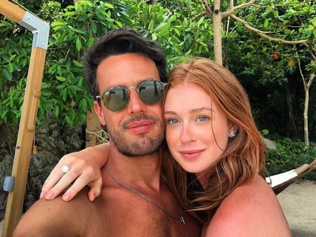 Marina Ruy Barbosa com o namorado, Xandinho Negrão, na Tailândia (Foto: Instagram/ Reprodução)
