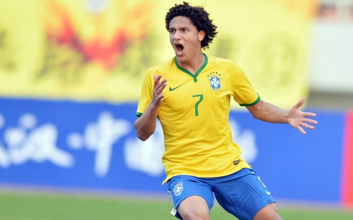 Felipe Gedoz, Seleção base Brasil (Foto: Getty)