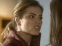 Camila conta para Letícia que Aline é apaixonada por Tiago