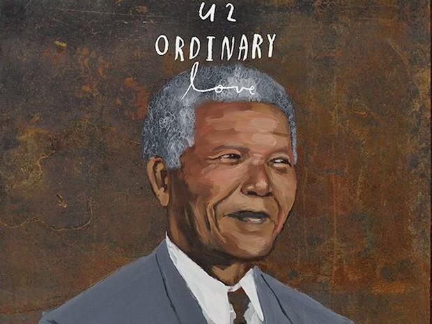 Capa do single 'Ordinary love', do U2 sobre Nelson Mandela (Foto: Divulgação)