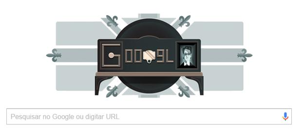 Doodle do Google celebra 90 anos da 1ª demonstração pública da televisão (Foto: Reprodução)