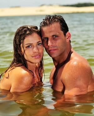Ela é guia turística e ele trabalha na Aeronática (Foto: João Miguel Jr./ TV Globo)