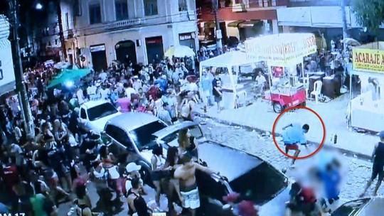 Suspeito de atirar em jovem no Centro de Vitória durante o carnaval é preso