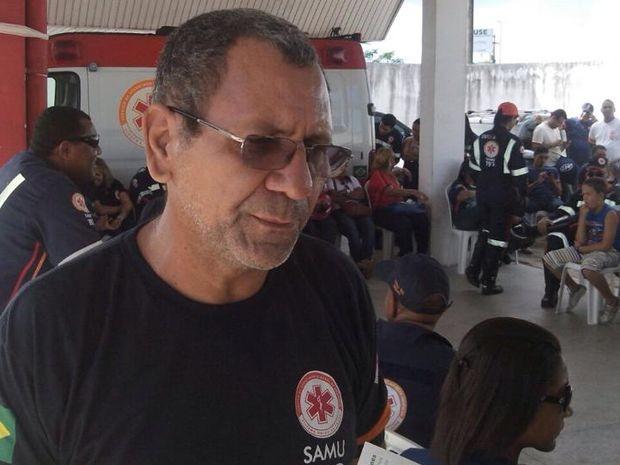 Adilson Ferreira diz que serviço foi reorganizado durante a paralisação (Foto: Tássio Andrade/G1)