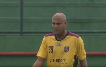 Sem atuar em 2016, Souza Caveirão renova com o Madura para o Carioca