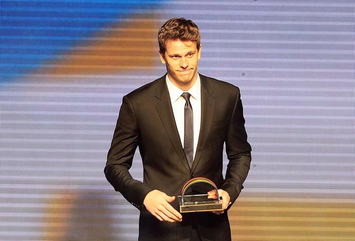 Cesar Cielo prêmio brasil olímpico (Foto: Marcos Ribolli / Globoesporte.com)