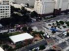 Rio - 18h: Protestos fecham pistas da Av. Presidente Vargas, no Centro