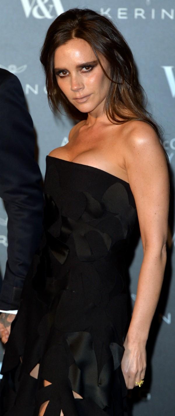 Victoria Beckham retirou seus silicones (Foto: Getty Images)
