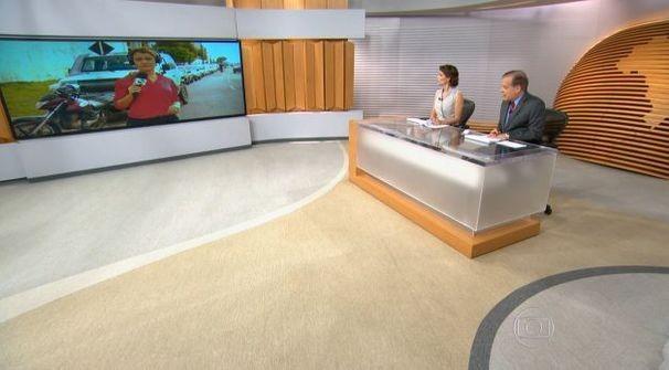 Bom Dia Brasil trouxe mais uma entrada da TV Sergipe (Foto: Divulgação/TV Sergipe)