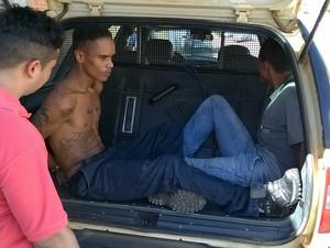 Suspeito disse à polícia que vai matar outros desafetos após sair da cadeia. (Foto: Valdivan Veloso/G1)