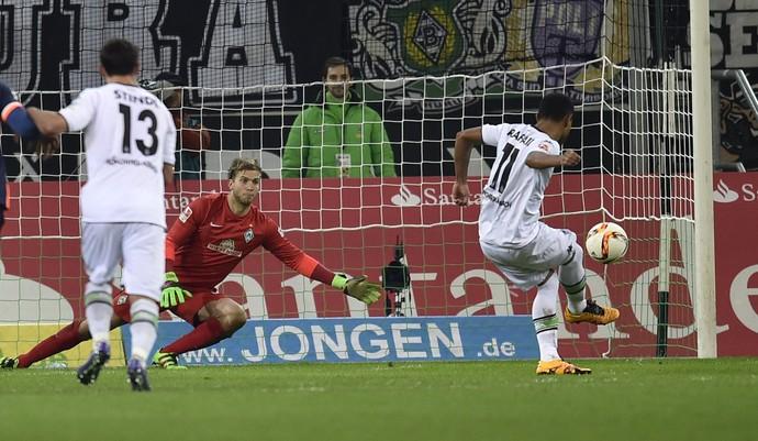 Raffael, Borussia Monchengladbach x Werder Bremen (Foto: AP Photo / Martin Meissner)