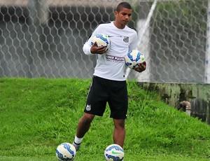 David Braz, zagueiro do Santos (Foto: Ivan Storti / Santos FC)