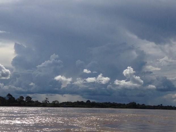 Céu nublado com possibilidade de chuvas em Rondônia, prevê Sipam. (Foto: Suzi Rocha)