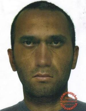 Retrato falado de suspeito de estupro (Foto: Divulgação/ Polícia Civil)