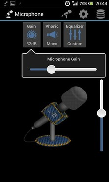 screenshot de Wonder Grace Microphone