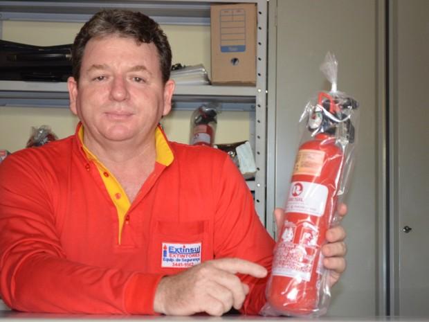 Vendedor de Cacoal investiu R$ 20 mil uma semana antes da decisão (Foto: Rogério Aderbal/ G1)