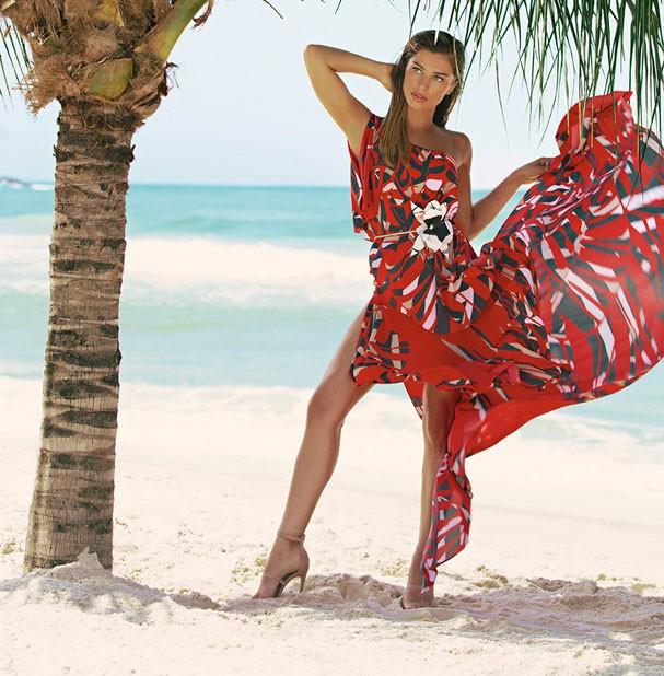 Grazi Massafera em campanha de moda verão 2018 (Foto: Divulgação/Eduardo Resende)