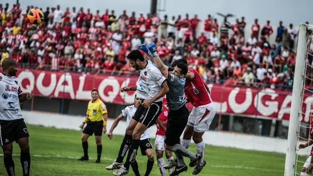 Sergipe 2x3 Botafogo-PB (Foto: Filippe Araújo / FSF)