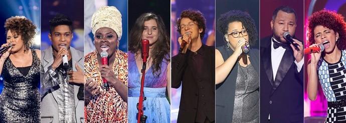 Todos eles voltam ao palco do reality na próxima quinta (Foto: Isabella Pinheiro/Gshow)
