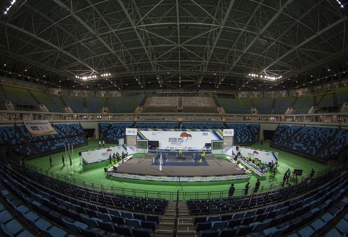 Arena Carioca 1 Jogos Olímpicos evento teste (Foto: Daniel Zappe/MPIX/CPB)