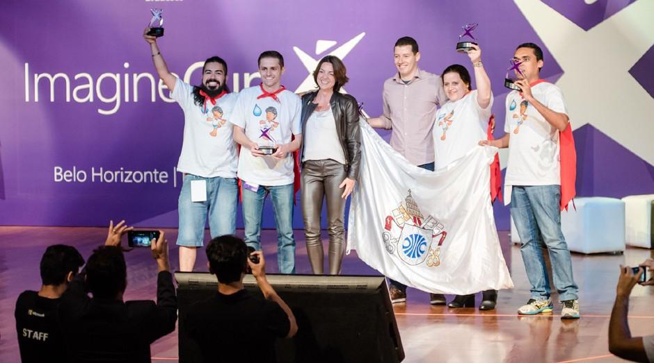 A TowerUp representará o Brasil na etapa mundial da Imagine Cup (Foto: Divulgação)