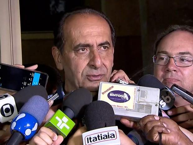Alexandre Kalil (PHS) fala como prefeito eleito de Belo Horizonte (Foto: Reprodução/TV Globo)