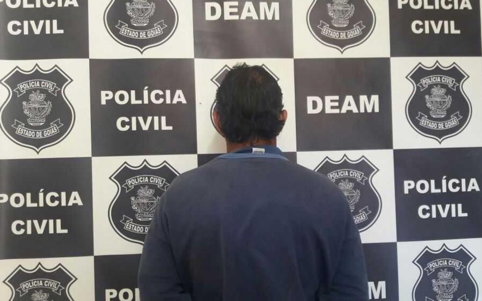 Homem é preso por estuprar prima de 12 anos em Itumbiara, Goiás (Foto: Divulgação/ Polícia Civil)