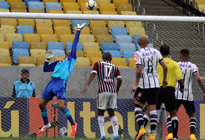 Diego Cavalieri, Fluminense X Corinthians (Foto: Nelson Perez / Fluminense FC)