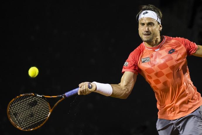 tenis david ferrer fabio fognini aberto do rio (Foto: AP)