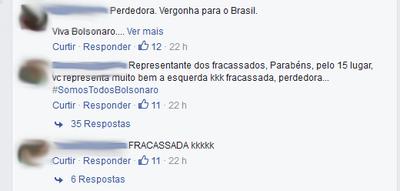 joanna maranhão; ofensas; bolsonaro (Foto: Reprodução)