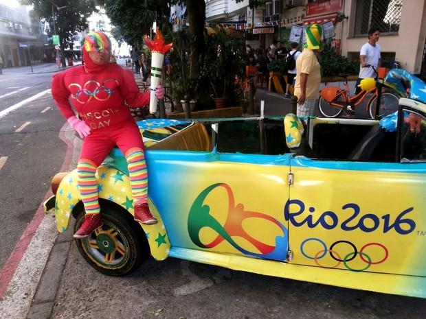 Mascote gay é atração da Olimpíada Rio 2016 (Foto: Divulgação / As bofinhas)