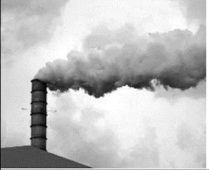 Indústria polui atmosfera (Foto: Reprodução)