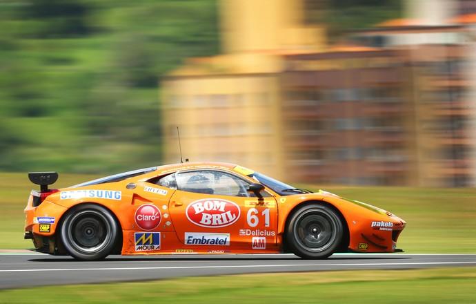 Emerson Fittipaldi Ferrari 6 horas de São Paulo (Foto: Luca Bassani/Divulgação)
