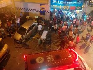 Homem foi preso por apresentar vizíveis sinais de embriaguez, segundo a PM (Foto: PM/Divulgação)