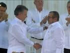 Governo da Colômbia e Farc  assinam um acordo de paz