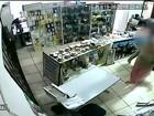 Circuito de segurança de loja de Bauru flagra ação de criminoso