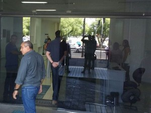 Jornalista foi impedido nesta quinta de entrar na Assembleia (Foto: Arquivo pessoal)