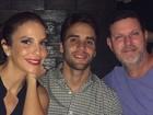 Ivete Sangalo faz programa romântico com o marido em Nova York