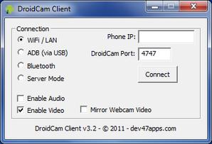 DroidCam PC