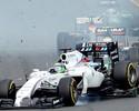 """Massa brinca: """"Só espero que não me tirem na 1ª curva, como ano passado"""""""