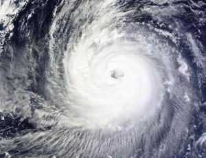Tufão Phanfone se formou no Pacífico e deve atingir a costa do Japão entre domingo e segunda (Foto: Reprodução)