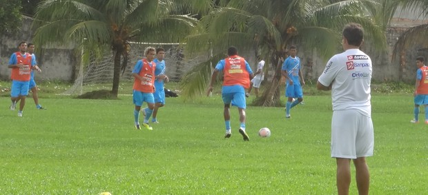 treino Paysandu  (Foto: Globoesporte.com)