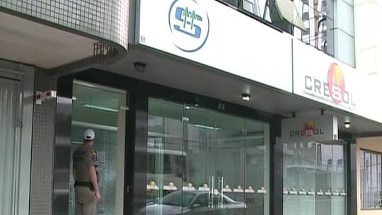 Funcionários são rendidos, e cooperativa de crédito é assaltada em Erechim