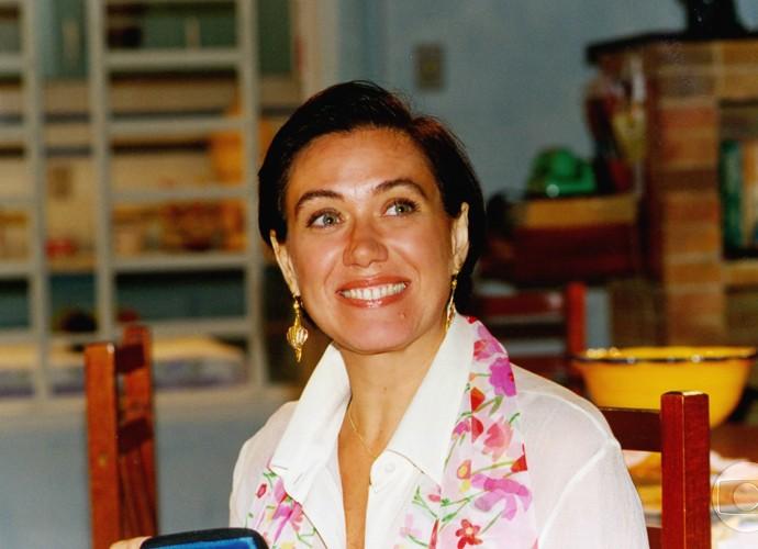 Lilia Cabral foi Goreti Garcia de Anjo Mau, de 1997 (Foto: Cedoc / TV Globo)