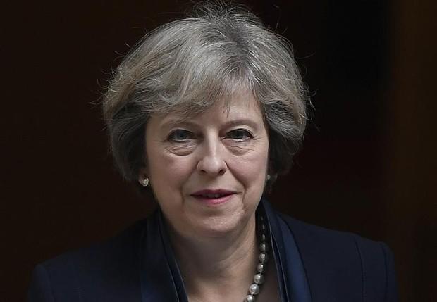 Primeira-ministra britânica, Theresa May, não participará do encontro (Foto: Toby Melville/Reuters)